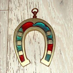 Vintage decorative horseshoe
